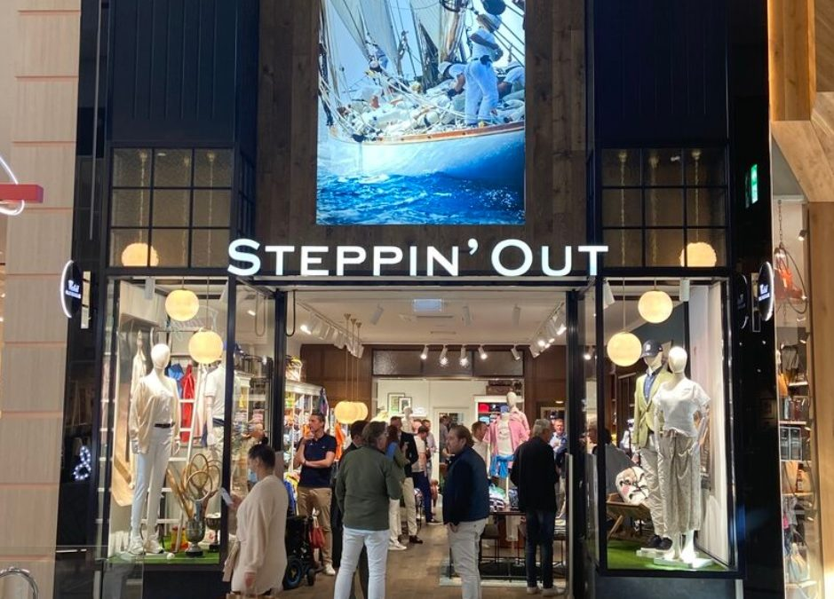 Steppin' Out opent nieuwe winkel in Mall of the Netherlands, Leidschendam